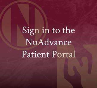 Sign in to the NuAdvance Patient Portal