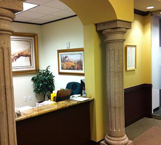 NuAdvance Reception Desk